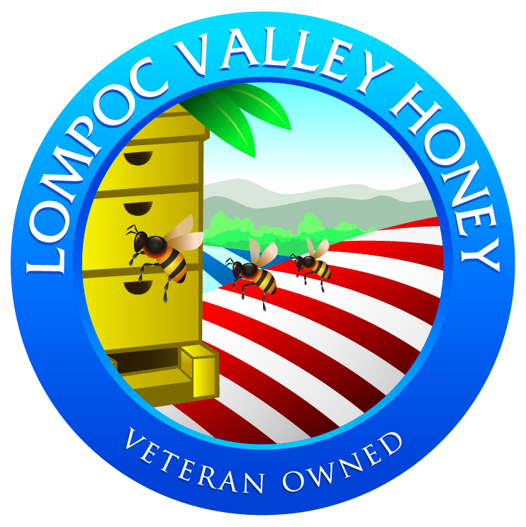 Lompoc Valley Honey Logo